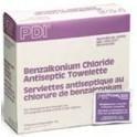 Benzalkonium Chloride Antiseptic Towelettes - Box of 100