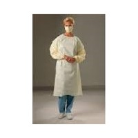DISPOSABLE OPEN BACK GOWN -WATER PROOF