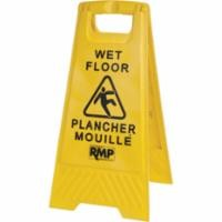 Bilingual Safety Floor Sign