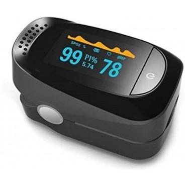 Finger tip pulse oxymeter