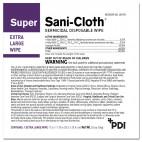 SUPER SANI-CLOTH EXTRA LARGE 65's