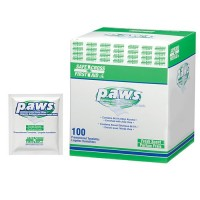 PAWS, ANTIMICROBIAL HAND TOWELETTES 100'S