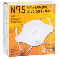 N95 Particulate Respirator with valve / 12 per box