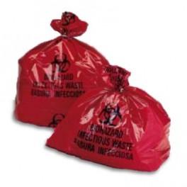 """Biohazard bags (24""""X24"""") 50 PER BAG"""