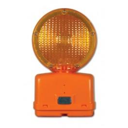 "Warning light - Lexan lenses Yellow 7"""