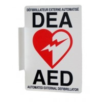 AED WALL SIGN-BILINGUAL