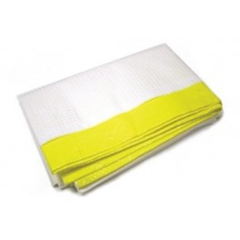 ECONO Yellow Emergency Blanket 150cm x182cm (60in. x 72in.) Each
