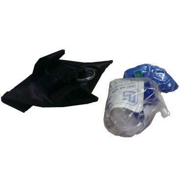Face Sheild with gloves (Black pouch only) - Each