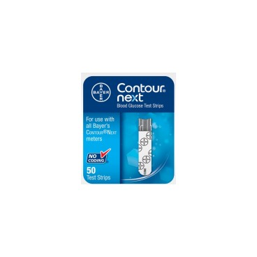 CONTOUR NEXT TEST STRIPS BOX OF 50