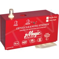 Metal Lens Cleaning Station