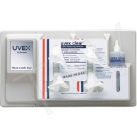 Uvex Clear® Lens Cleaning Station