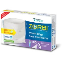 ZORBI VOMIT BAGS WITH CLEANIS TECHNOLOGY