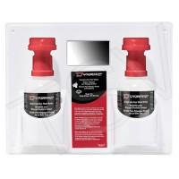 Double-Use Eyewash Station with Isotonic Solution